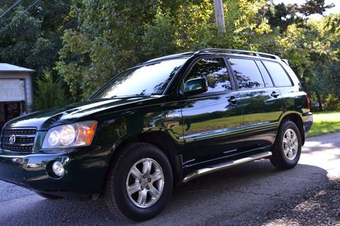 2002 Toyota Highlander for sale at Victory Auto Sales in Randleman NC