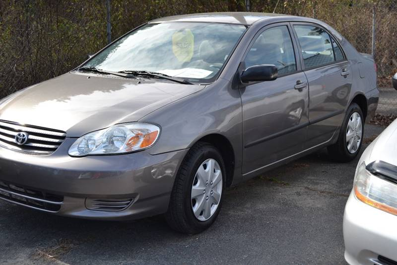 2003 Toyota Corolla For Sale At Victory Auto Sales In Randleman NC