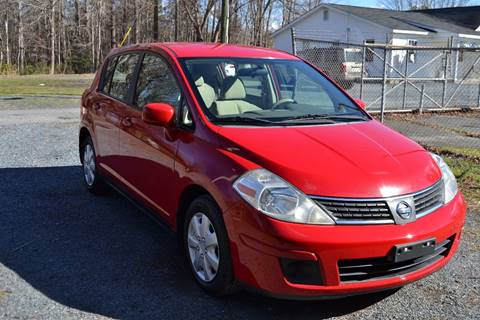 2007 Nissan Versa for sale at Victory Auto Sales in Randleman NC
