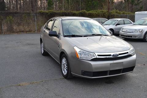 2008 Ford Focus for sale at Victory Auto Sales in Randleman NC