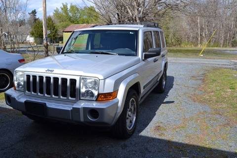 2006 Jeep Commander for sale at Victory Auto Sales in Randleman NC