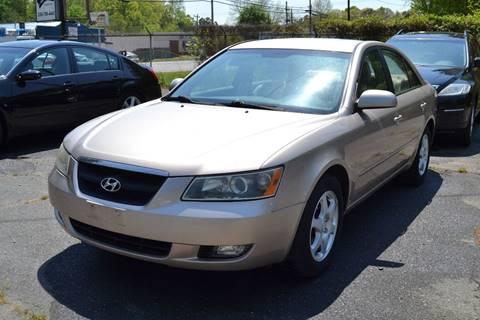 2006 Hyundai Sonata for sale at Victory Auto Sales in Randleman NC