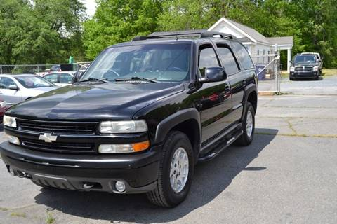2002 Chevrolet Tahoe for sale at Victory Auto Sales in Randleman NC