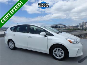 2014 Toyota Prius v for sale in Seattle, WA