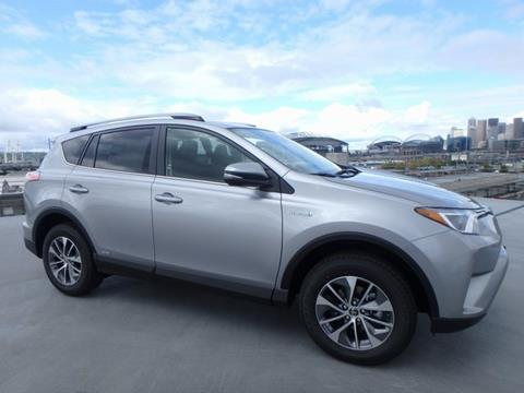2018 Toyota RAV4 Hybrid for sale in Seattle, WA