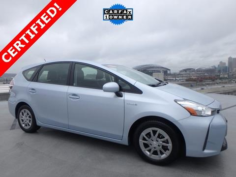 2015 Toyota Prius v for sale in Seattle, WA