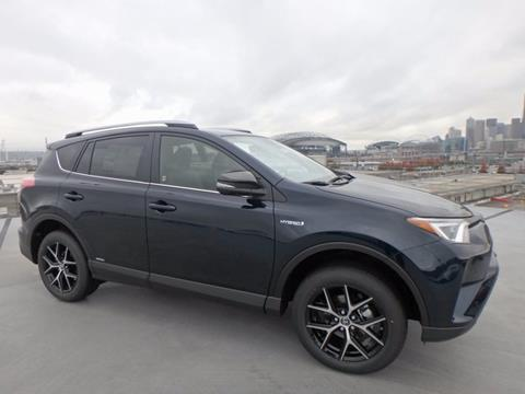 2018 Toyota RAV4 Hybrid for sale in Seattle, WA