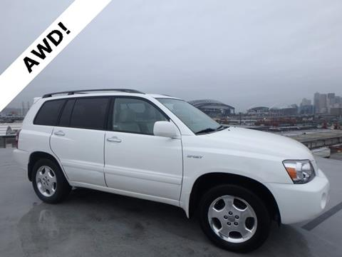 2006 Toyota Highlander for sale in Seattle, WA
