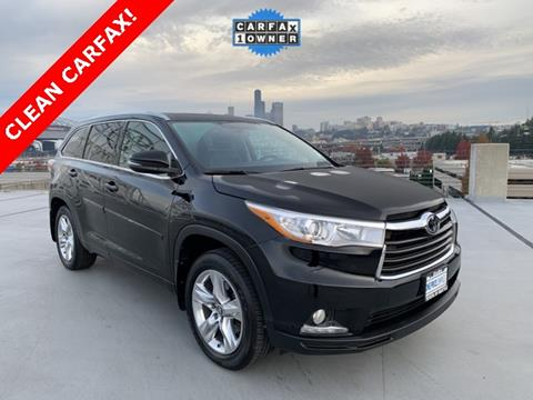 2016 Toyota Highlander for sale in Seattle, WA