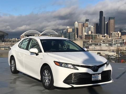2020 Toyota Camry Hybrid for sale in Seattle, WA