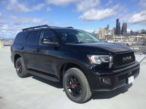 2020 Toyota Sequoia TRD Pro for sale at Toyota of Seattle in Seattle WA