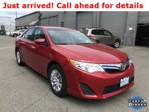 2013 Toyota Camry LE for sale at Toyota of Seattle in Seattle WA
