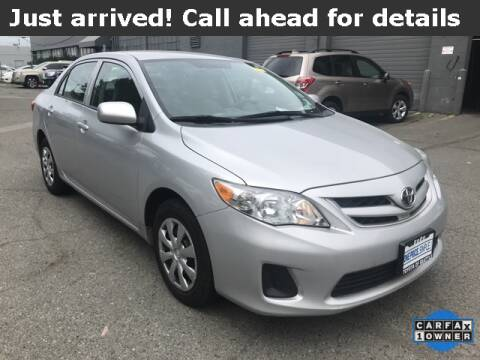 2013 Toyota Corolla L for sale at Toyota of Seattle in Seattle WA