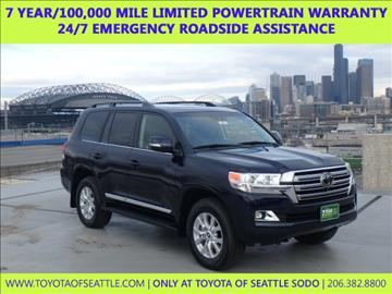 2017 Toyota Land Cruiser for sale in Seattle, WA