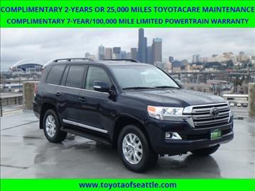 2017 Toyota Land Cruiser for sale in Seattle, WA