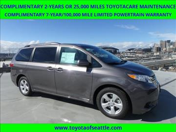 2017 Toyota Sienna for sale in Seattle, WA