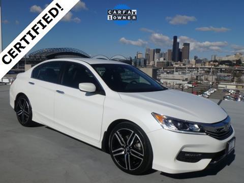 2016 Honda Accord for sale in Seattle, WA