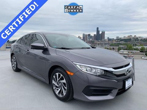 2016 Honda Civic for sale in Seattle, WA