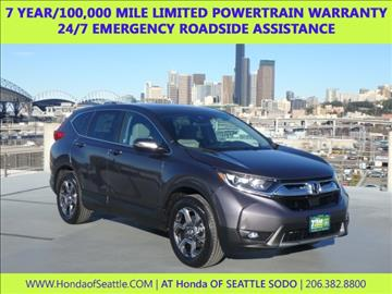 2017 Honda CR-V for sale in Seattle, WA