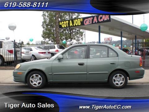 2004 Hyundai Accent for sale in El Cajon, CA