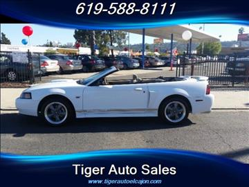 2002 Ford Mustang for sale in El Cajon, CA