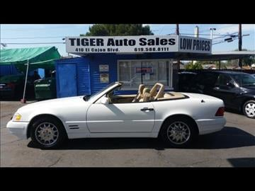 1998 Mercedes-Benz SL-Class for sale in El Cajon, CA