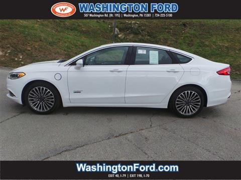 2018 Ford Fusion Energi for sale in Washington, PA