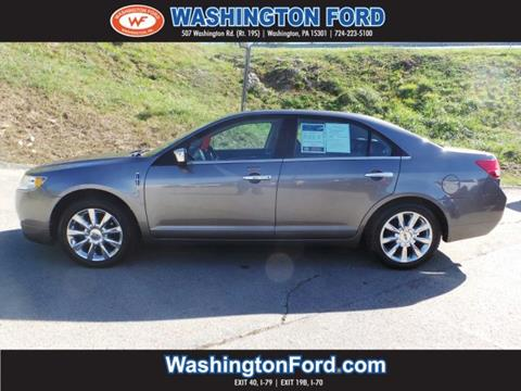 2010 Lincoln MKZ for sale in Washington, PA