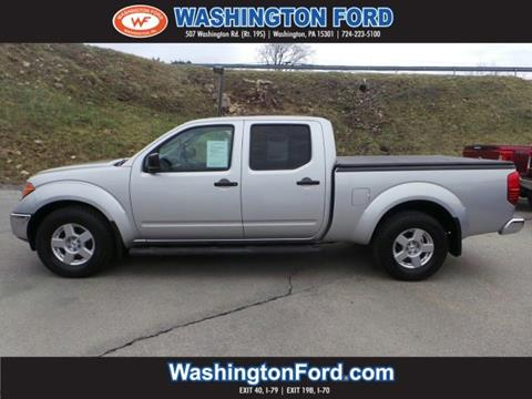2007 Nissan Frontier for sale in Washington, PA