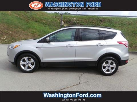 2014 Ford Escape for sale in Washington, PA