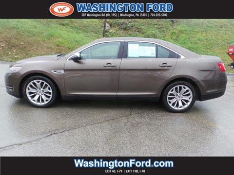 2016 Ford Taurus for sale in Washington, PA