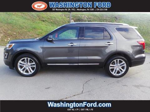 2016 Ford Explorer for sale in Washington, PA