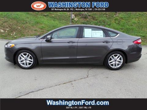 2015 Ford Fusion for sale in Washington, PA