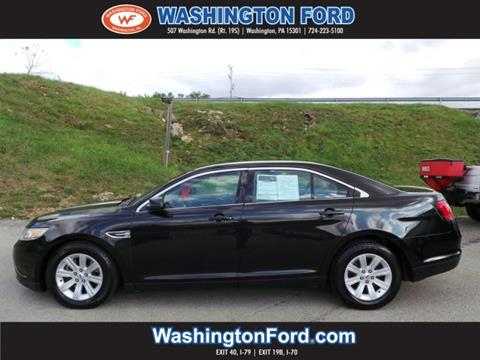 2011 Ford Taurus for sale in Washington, PA