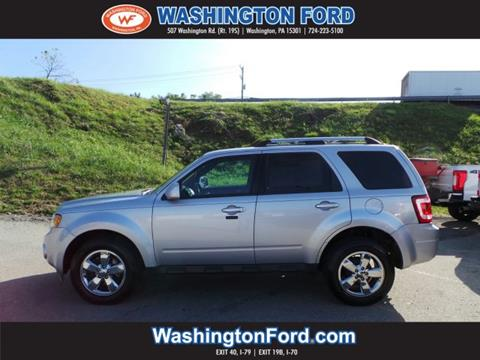 2012 Ford Escape for sale in Washington, PA