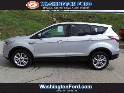 2017 Ford Escape for sale in Washington, PA