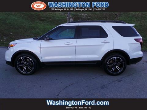 2015 Ford Explorer for sale in Washington, PA