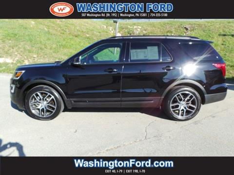 2017 Ford Explorer for sale in Washington, PA
