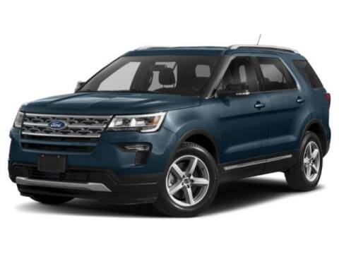 2018 Ford Explorer XLT for sale at WASHINGTON FORD in Washington PA
