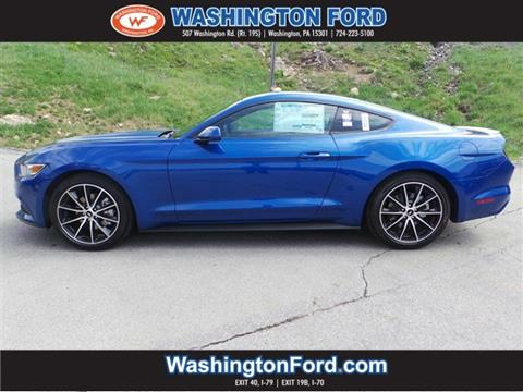 2017 Ford Mustang for sale in Washington, PA