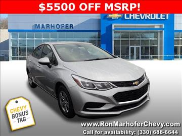2017 Chevrolet Cruze for sale in Stow, OH