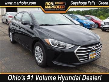 2018 Hyundai Elantra for sale in Cuyahoga Falls, OH