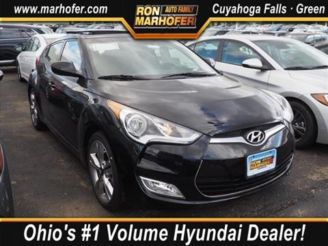 2017 Hyundai Veloster for sale in Cuyahoga Falls, OH