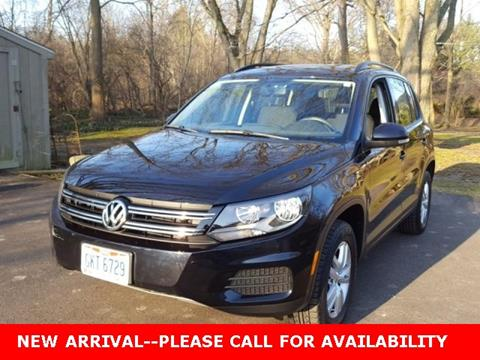 2015 Volkswagen Tiguan for sale in Cuyahoga Falls, OH