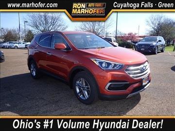 2017 Hyundai Santa Fe Sport for sale in Cuyahoga Falls, OH