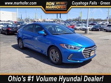 2017 Hyundai Elantra for sale in Cuyahoga Falls, OH