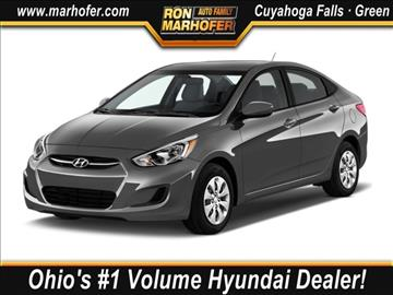 2017 Hyundai Accent for sale in Cuyahoga Falls, OH