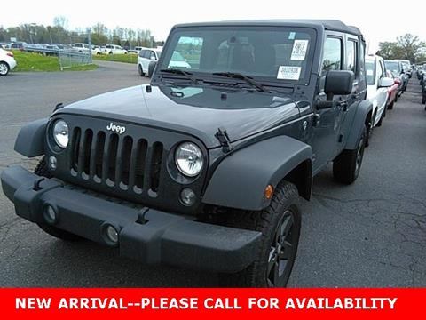 2017 Jeep Wrangler Unlimited for sale in Akron, OH