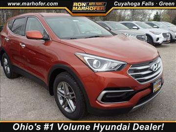 2017 Hyundai Santa Fe Sport for sale in Akron, OH