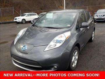 2013 Nissan LEAF for sale in Cuyahoga Falls, OH